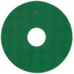 15インチ スクラビングパッド(緑)写真