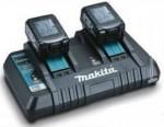 マキタ バッテリー2口急速充電器写真